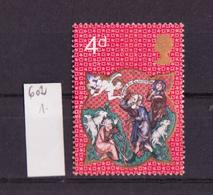 Grande Bretagne - Great Britain - Großbritannien 1970 Y&T N°602 - Michel N°558 *** - 4p Noël - 1952-.... (Elizabeth II)