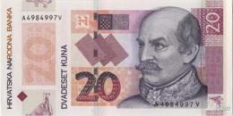 Croatie 20 Kuna (P44) 2014 -UNC- - Croatie