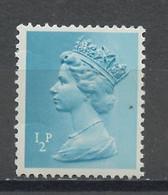 Grande Bretagne - Great Britain - Großbritannien 1970-80 Y&T N°605 - Michel N°561 *** - 0,5p Reine Elisabeth II - 1952-.... (Elizabeth II)