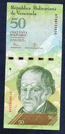 Venezuela  50   Bolívares 2015  (UNC) - Venezuela