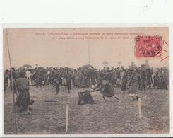 CPA- QUANG-YEN- Exécution Capitale De Deux Assassins Annamite Le 7 Mars 1905-2scans 1905 - Vietnam