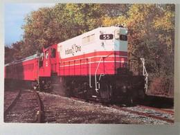 Carte Postale : Indiana & Ohio Scenic Railway, Mason Lebanon - Trains