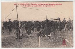 CPA- QUANG-YEN- Exécution Capitale De Deux Assassins Annamite Le 7 Mars 1905-2scans TBE - Vietnam