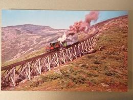 Carte Postale : MT. WASHINGTON COG RAILWAY, White Mountain,  New Hampshire - Trains