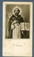 °°° Santino - Cartoncino S. Domenico °°° - Religion &  Esoterik