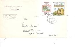 Macao ( Lettre Par Avion De 1982 De Macao Vers La Belgique à Voir) - Macau