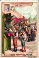 0565   Liebig 6 Cards -C1898 Fireworks &Balloons At The Fair-Kermesse-Ballons- - Liebig