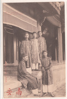 CPA- ANNAM- HUE- Groupe D' Eunuques-1905- 2scans TBE - Viêt-Nam
