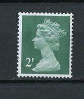 Grande Bretagne - Great Britain - Großbritannien 1970-80 Y&T N°608 - Michel N°564 *** - 2p Reine Elisabeth II - 1952-.... (Elizabeth II)