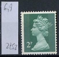 Grande Bretagne - Great Britain - Großbritannien 1970-80 Y&T N°608 - Michel N°564 Nsg - 2p Reine Elisabeth II - 1952-.... (Elizabeth II)