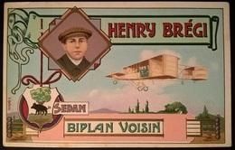 BIPLANO VOISIN PILOTA H. BREGI - Aviatori