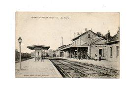 PORT DE PILES (86) - La Gare (Tampon Train Sanitaire) - Autres Communes