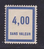 FRANCE FICTIF N°  F54 ** MNH Timbre Neuf Gomme D'origine Sans Trace De Charnière -TB - Phantomausgaben