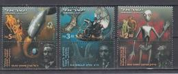 ISRAEL 2000 SCIENCE FICTION JULES VERNE SPACE TRAVEL H.G.WELLS TIME TRAVEL ISAAC ASIMOV ROBOTICS - Nuovi (con Tab)