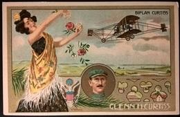 BIPLANO CURTISS PILOTA G. CURTISS - Aviatori