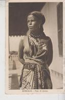 Afrika Africa Somalia Donna Somala 1936 Nice Stamp - Somalie