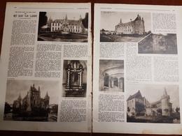 Het Slot Van Laerne Kasteel Laarne / Scherpenheuvel : 2 Blz Uit Oud Tijdschrift: Zondagsvriend 1933 - Laarne