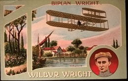 BIPLANO WRIGHT PILOTA W. WRIGHT - Aviatori