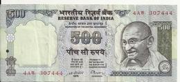 INDE 500 RUPEES VF - Inde