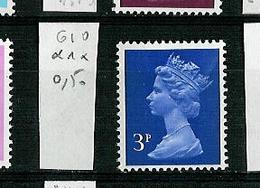Grande Bretagne - Great Britain - Großbritannien 1970-80 Y&T N°610 - Michel N°566 *** - 3p Reine Elisabeth II - 1952-.... (Elizabeth II)
