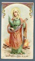 °°° Santino - Sant'apollonia, V. E M. 1906  °°° - Religion &  Esoterik