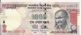 INDE 1000 RUPEES VF+ - Inde