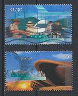 °°° HONG KONG - Y&T N°860/65 - 1998 °°° - 1997-... Speciale Bestuurlijke Regio Van China