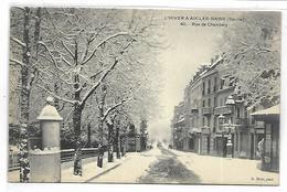 L'hiver à AIX LES BAINS - Rue De Chambéry - Aix Les Bains