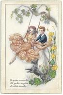 El Quieto Myrmullo Del Jardin Inspira El Calido Arrullo CyZ - 568 - Couple, Swing, Dog - Couples