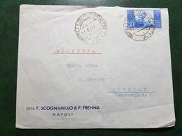 (14680) STORIA POSTALE ITALIA 1948 - 6. 1946-.. Repubblica