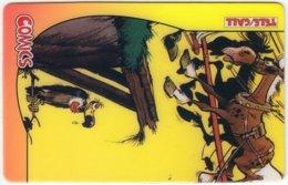 USA C-519 Prepaid TeleCall - Comix, Lucky Luke (Puzzle 3 Of 4) - FAKE - United States