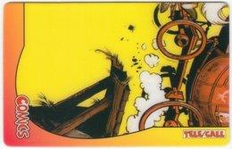 USA C-520 Prepaid TeleCall - Comix, Lucky Luke (Puzzle 4 Of 4) - FAKE - United States