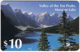 USA C-592 Prepaid  - Landscape, Lake, Mountains - Used - United States