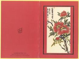 Tematica - Fiori - Rose - Biglietto Augurale - Charme Exotique B 61 - Original Peint Avec La Bouche Par M.-S. Han - Not - Altri