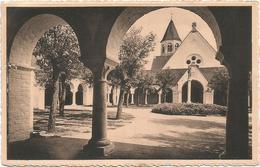 W640 Knokke Zoute - Preau De L'Eglise - Binnenkoer Der Kerk / Viaggiata 1951 - Knokke