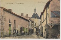86 - CHARROUX - RUE DE L'HORLOGE - Autres Communes