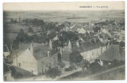 CPA HERBAULT, VUE GENERALE, LOIR ET CHER 41 - Herbault