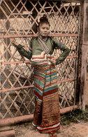 INDOCHINE FRANCAISE - LAOS - Femme D'un Chef Khas - Région Du Hao Nanh - Carte De 1911 - Bon état - 2 Scans - Laos