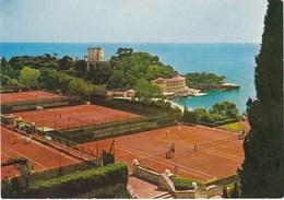 MONACO. MONTE-CARLO (le Country-Club Et Le Beach). Courts De Tennis - Monte-Carlo