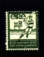 IRELAND/EIRE - 1934  GAELIC ATHLETIC  ASSOCIATION  MINT NH - 1922-37 Irish Free State