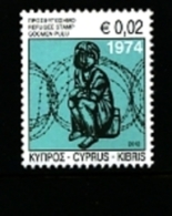 CYPRUS - 2012  REFUGEE FOUND  MINT NH - Ungebraucht