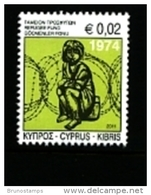 CYPRUS - 2011  REFUGEE FOUND  MINT NH - Cipro (Repubblica)
