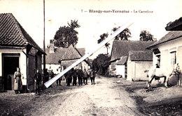 BLANGY-sur-TERNOISE (P-de-C) - Le Carrefour - Carte Très Animée - France