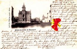 Hôtel De Ville De RANSART - CARTE CIRCULEE EN 1901 - Charleroi