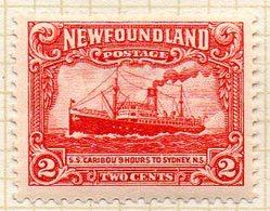 "TERRE NEUVE - (Colonie Britannique) - 1931 - N° 157 - 2 C. Rouge - (Steamer ""Caribou"") - Other"