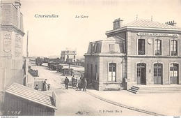 COURSEULLES - La Gare - Très Bon état - Courseulles-sur-Mer