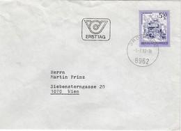 ÖSTERREICH 1982 - MiNr. 1710 FDC Orts ET-Stempel Gelaufen - FDC