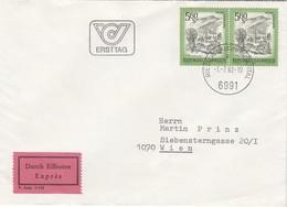 ÖSTERREICH 1982 - MiNr. 1711 FDC Orts ET-Stempel Gelaufen - FDC