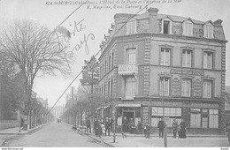 CABOURG - L'Hôtel De La Poste Et L'Avenue De La Mer - Très Bon état - Cabourg