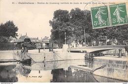 OUISTREHAM - Station Du Tramway Et Pont Du Vieux Bassin - Très Bon état - Ouistreham